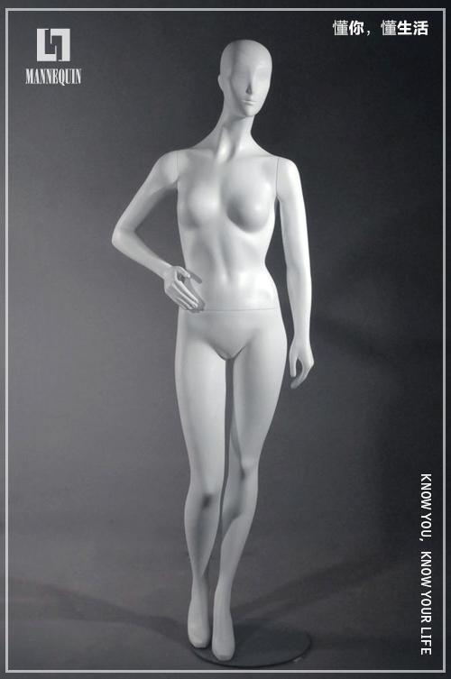 L7女款站姿全身哑光模特道具FS
