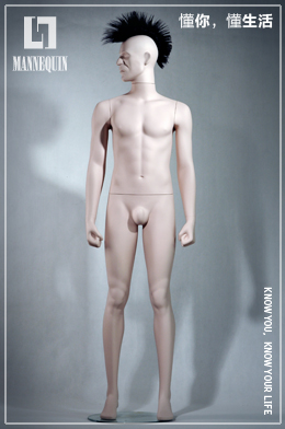 L7男款全身站姿模特道具