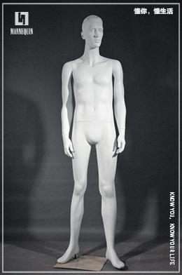 L7男款玻璃钢模特道具MF