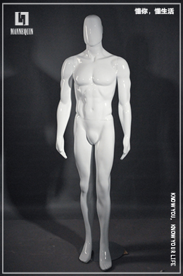 L7男款玻璃钢模特道具MG