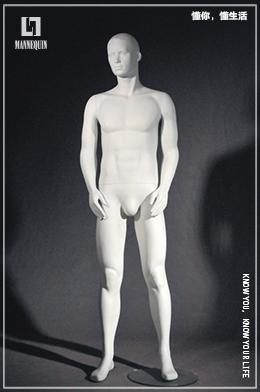 L7男款玻璃钢模特道具MI