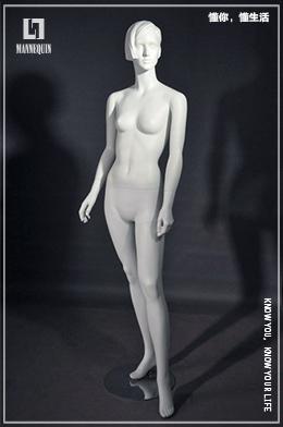 L7女款站姿全身玻璃钢模特道具FN