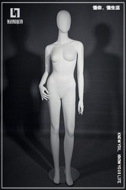 L7女款站姿全身模特道具FO