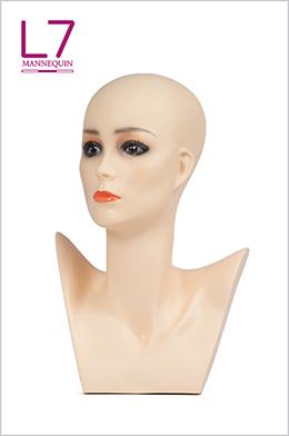 欧美假发饰品围巾展示模特头PM1E 39
