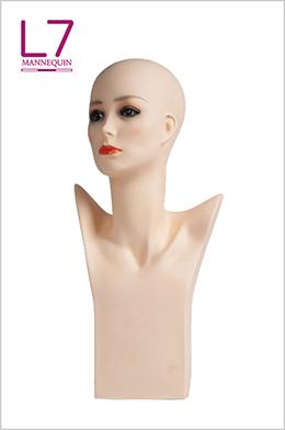 欧美假发饰品围巾展示模特头PM1E 55