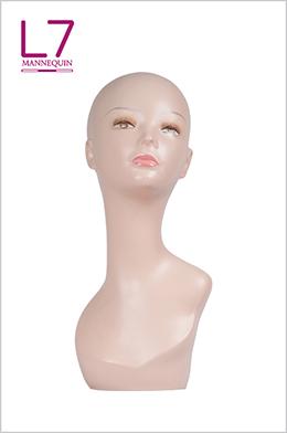 欧美假发饰品围巾展示模特头PQ5-28#
